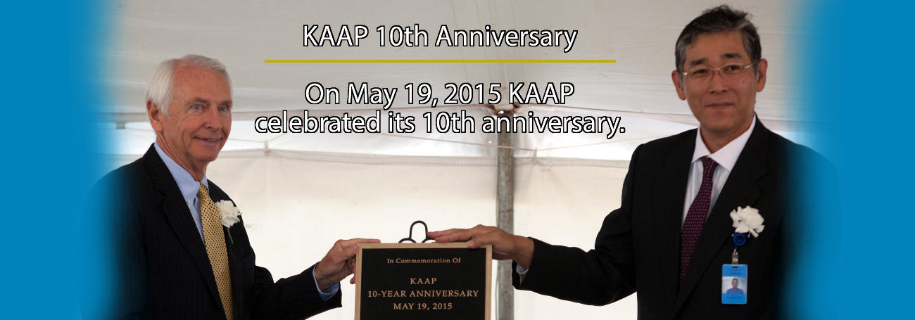 KAAP 10th Anniversary